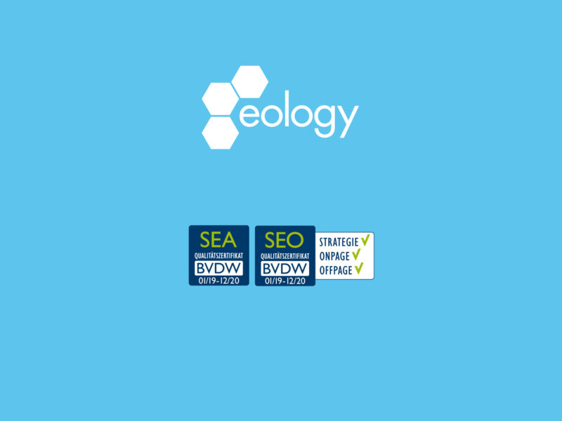 eology again awarded BVDW quality certificates