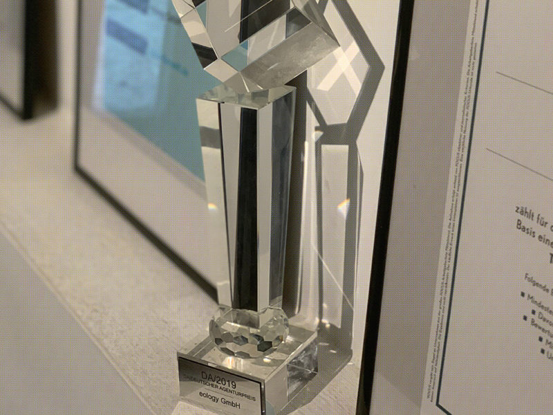 eology receives three awards at once
